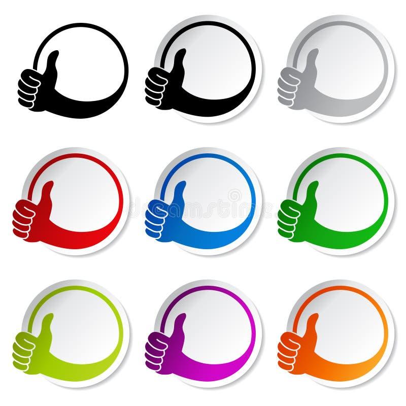Download 赞许手标志-最佳的挑选贴纸 向量例证. 插画 包括有 决策, 要素, 图象, 沟通, 选择, 人们, 例证 - 30327062