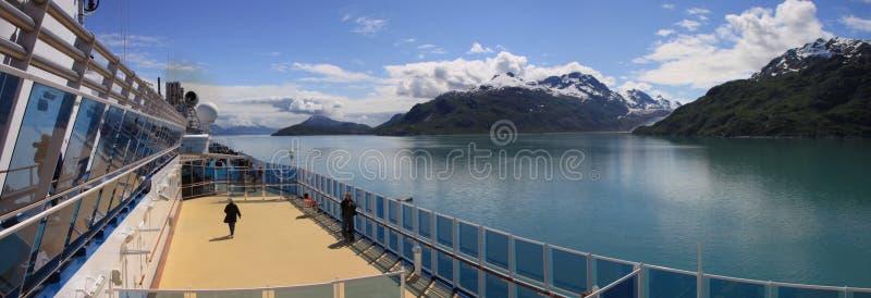赞赏的海湾冰川 库存照片