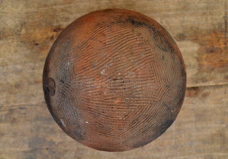 赤土陶器容器 库存照片