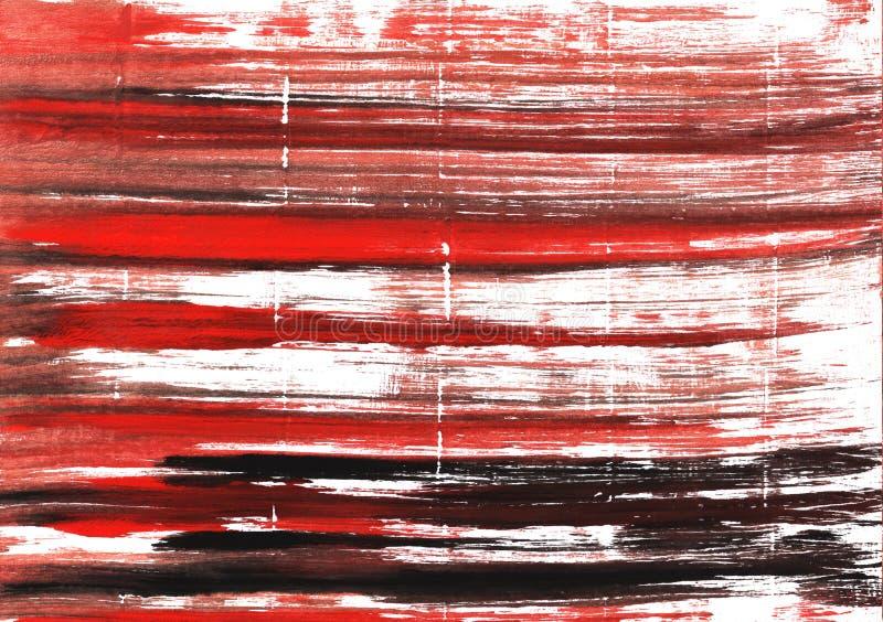 赤土陶器抽象水彩背景 免版税图库摄影