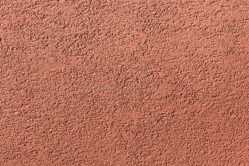 赤土陶器被绘的灰泥墙壁 木背景详细资料老纹理的视窗 免版税库存照片
