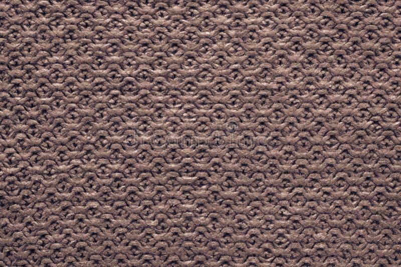 赤土陶器褐色颜色被编织的多孔的纹理  免版税库存照片