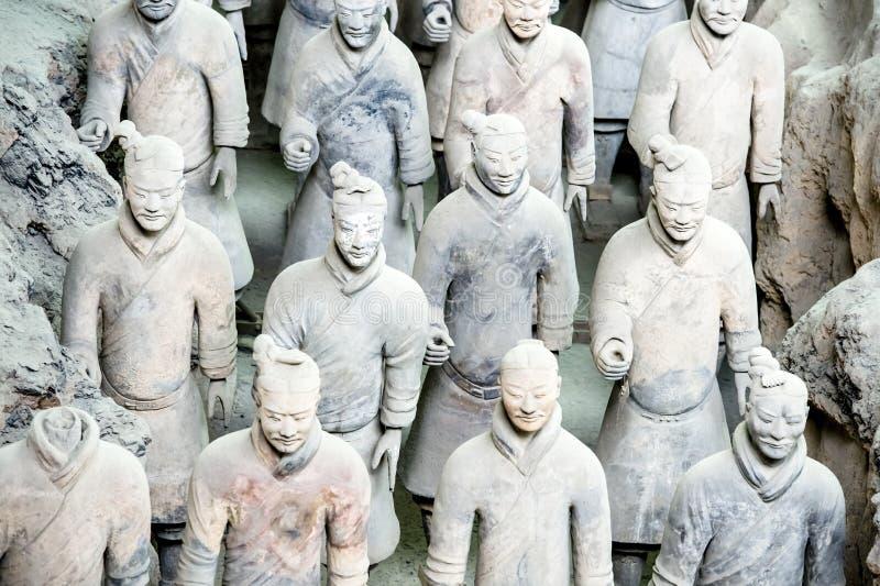 赤土陶器陆军 免版税库存照片
