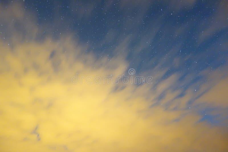 赤裸天空 免版税图库摄影