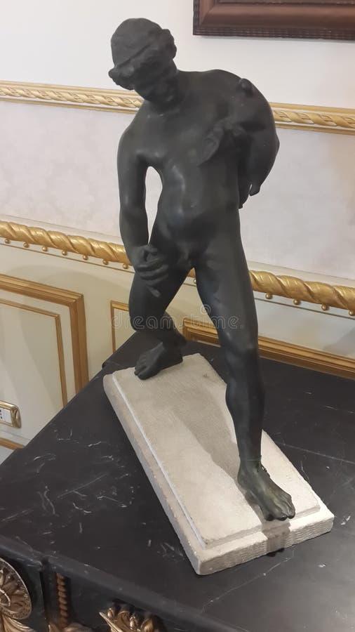 赤裸的人 图库摄影