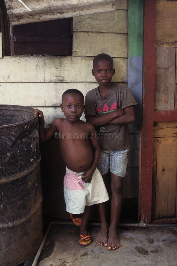 赤道几内亚马拉博 免版税库存图片