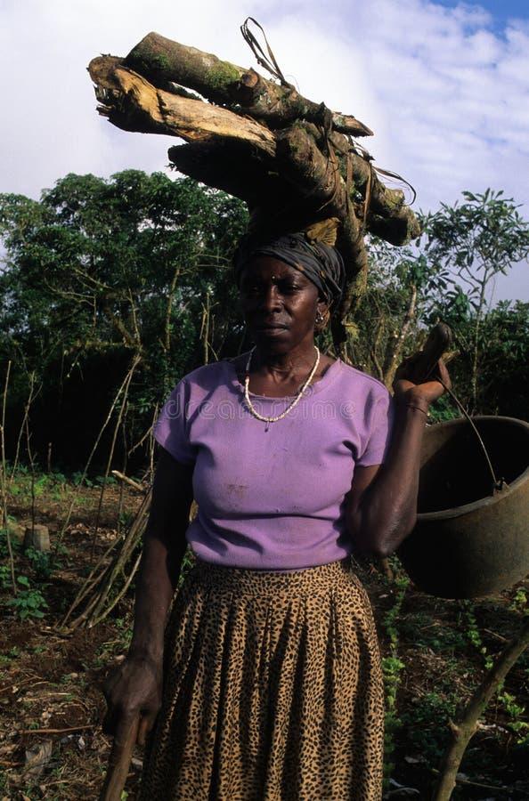 赤道几内亚moca 免版税库存照片