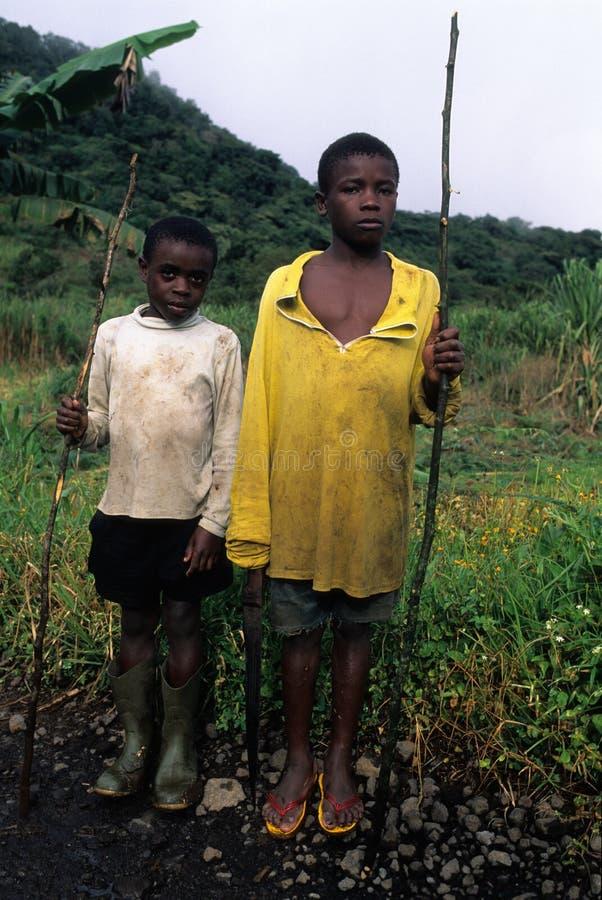 赤道几内亚moca 库存图片