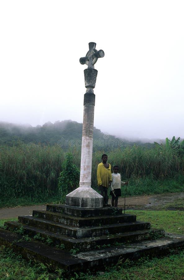 赤道几内亚moca 免版税图库摄影