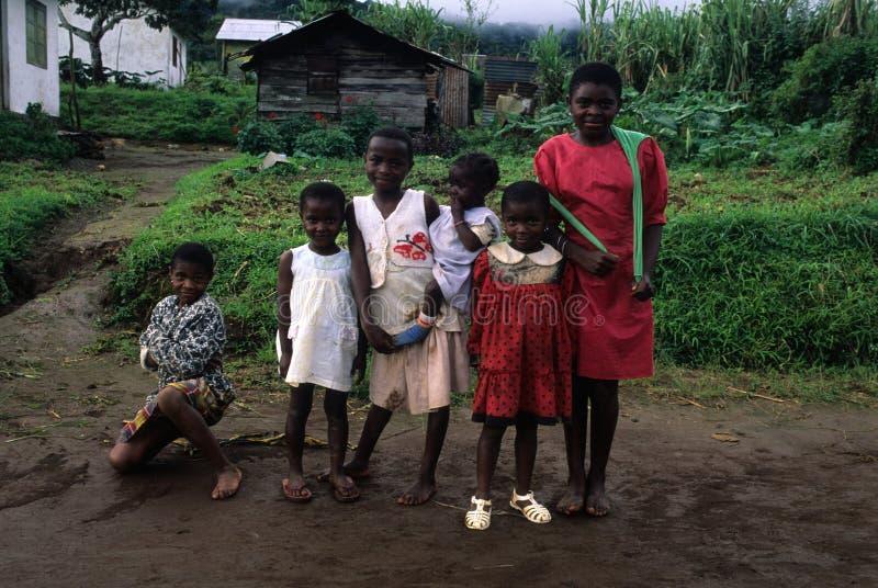 赤道几内亚moca 库存照片
