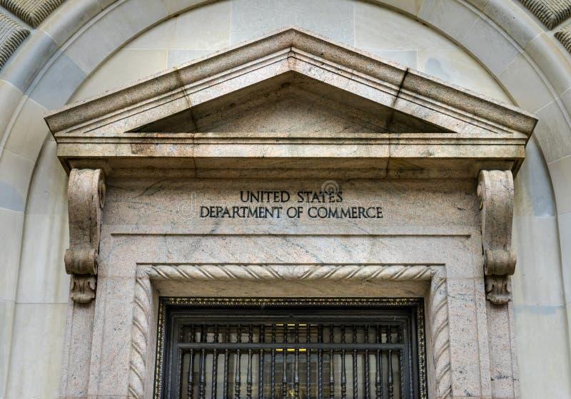 赫伯特・胡佛大厦商务部第14街道华盛顿特区 库存图片