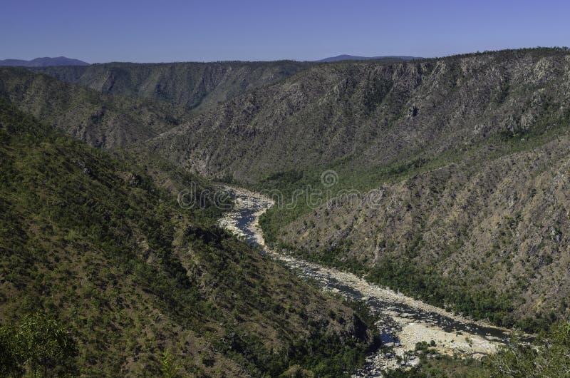 赫伯特河峡谷 免版税库存图片