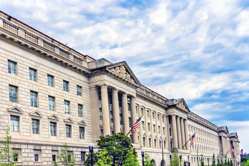 赫伯特・胡佛大厦商务部华盛顿特区 图库摄影