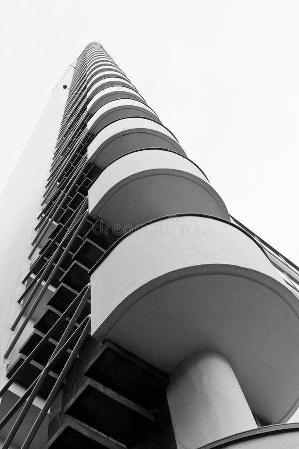 赫尔辛基奥林匹克体育场塔  库存照片