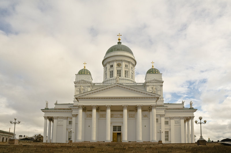 赫尔辛基 免版税库存图片