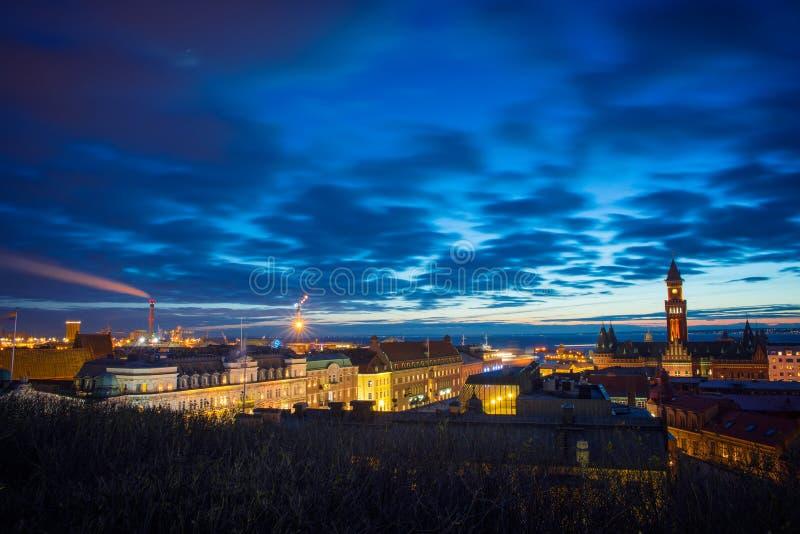 赫尔辛堡 免版税库存图片