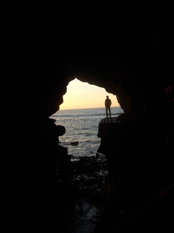 赫拉克勒斯洞在tanger摩洛哥 免版税图库摄影