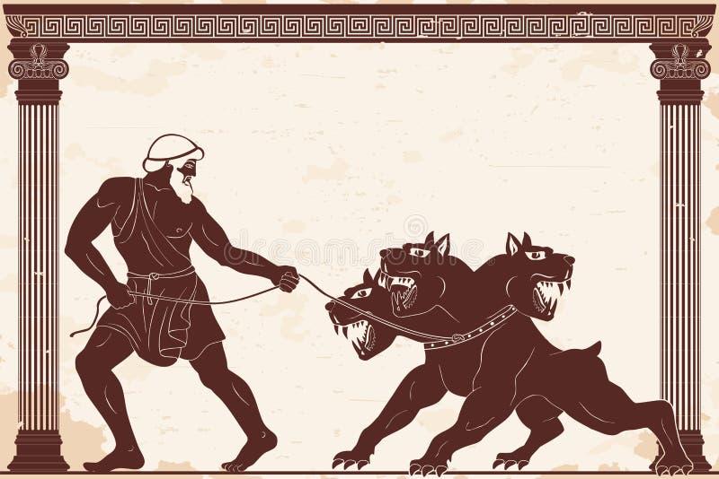 赫拉克勒斯12盘剥  皇族释放例证