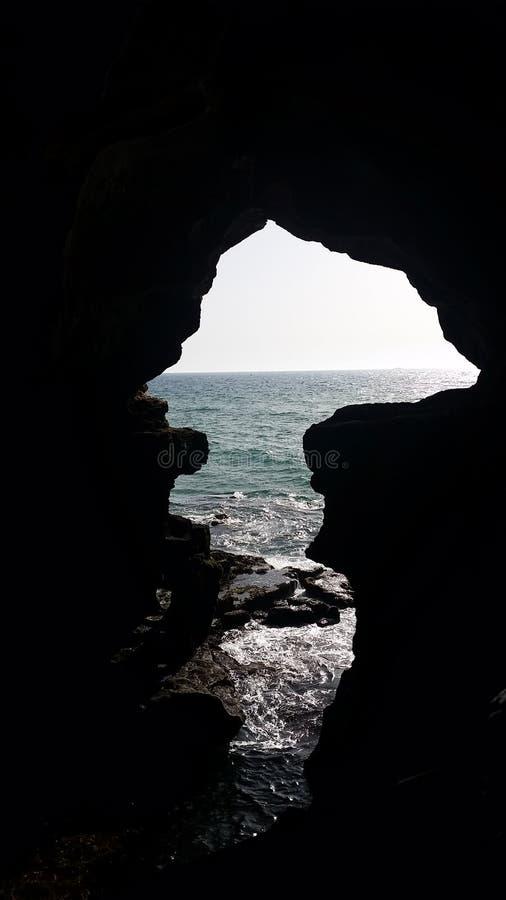 赫拉克勒斯洞 免版税库存照片