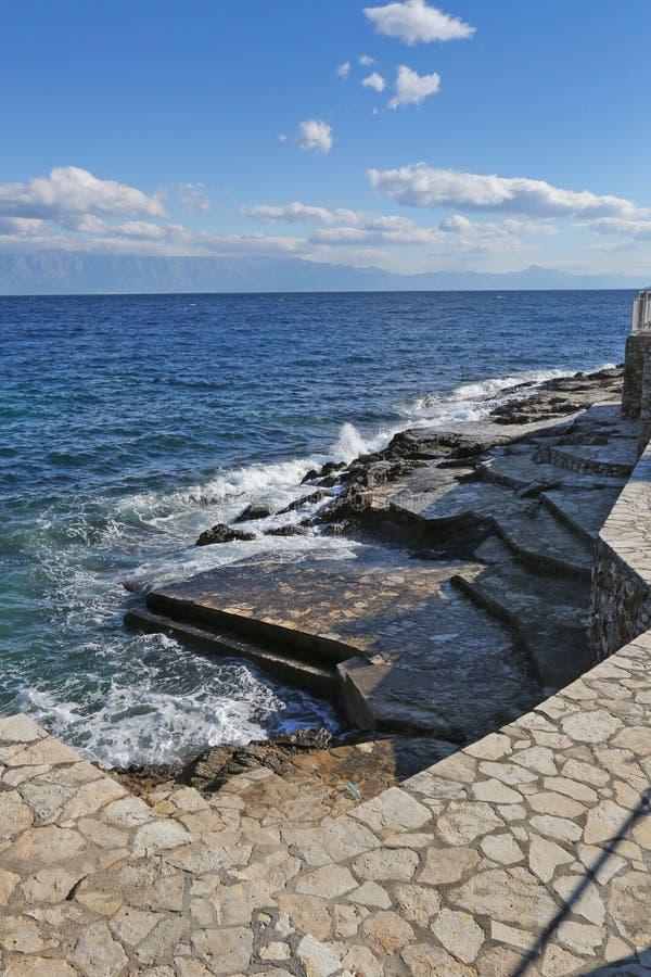 赫瓦尔岛风景海岛  免版税库存图片
