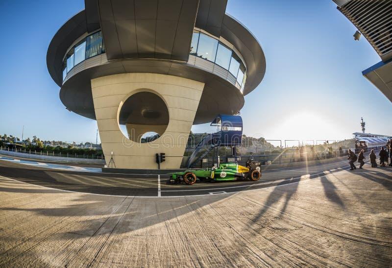 Caterham F1 库存照片