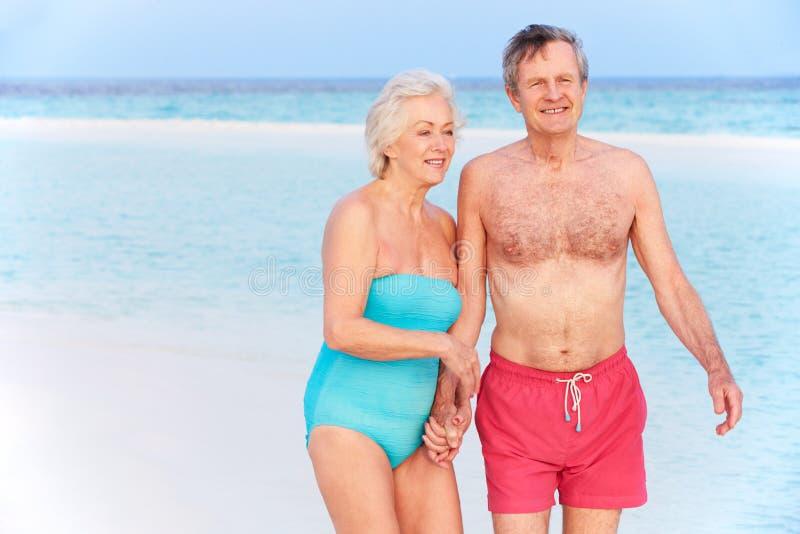 Download 走在美丽的热带海的资深浪漫夫妇 库存照片. 图片 包括有 天堂, 空间, 水平, 沙子, 高级, 蓝色, 夫妇 - 30329074