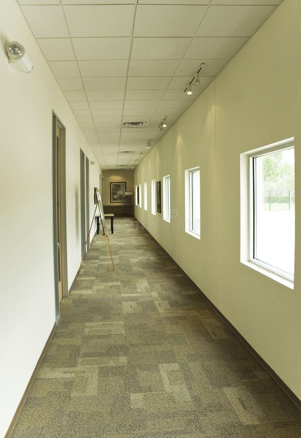 走廊办公室 免版税库存照片
