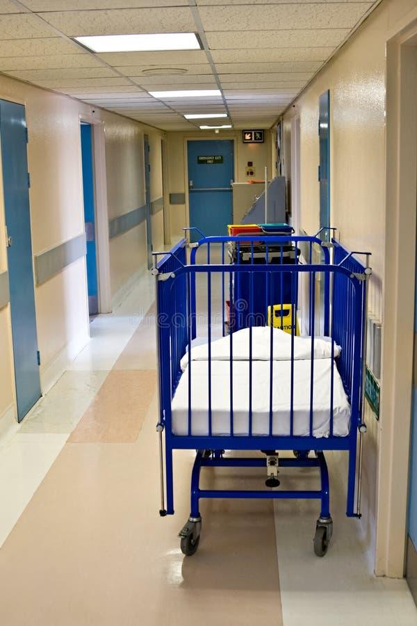 走廊医院 库存照片