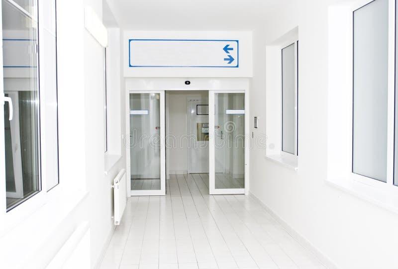 走廊医院 图库摄影