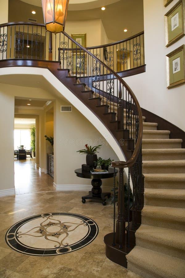 走廊楼梯 库存图片