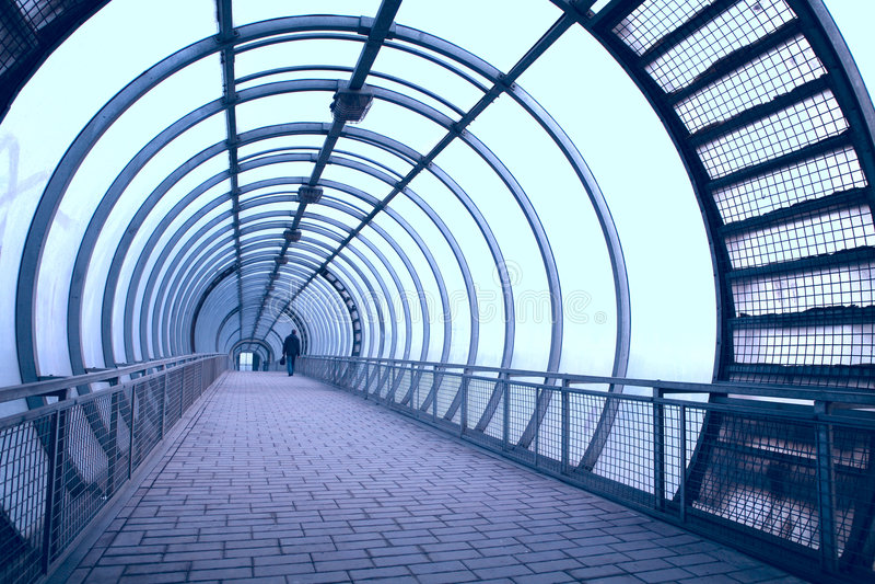 走廊玻璃 免版税库存照片