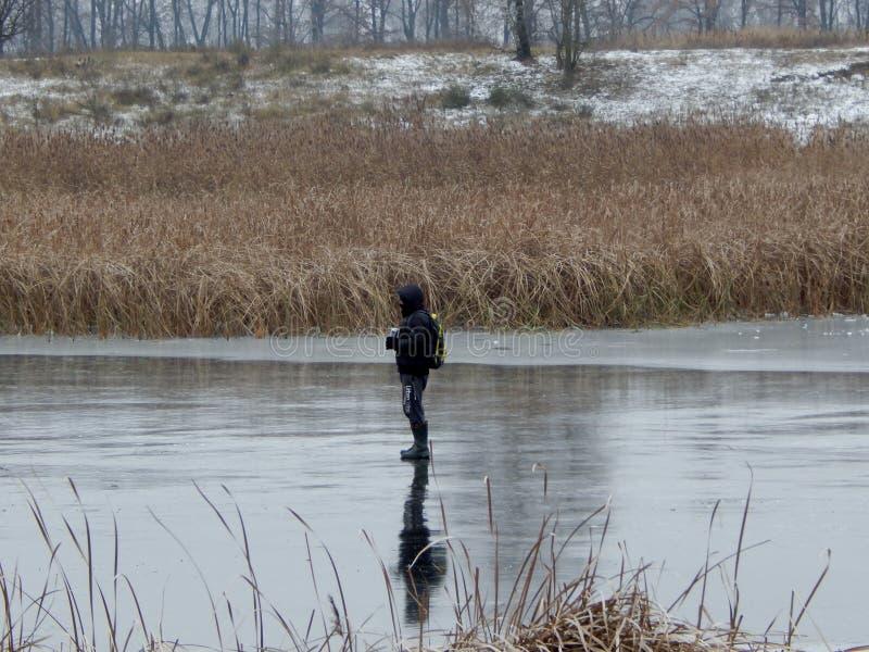 走的水 免版税库存图片