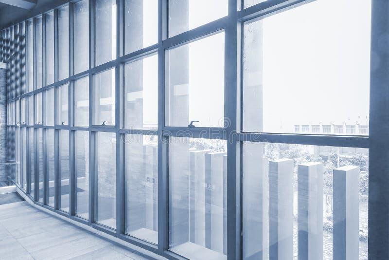 走廊室内现代 免版税图库摄影