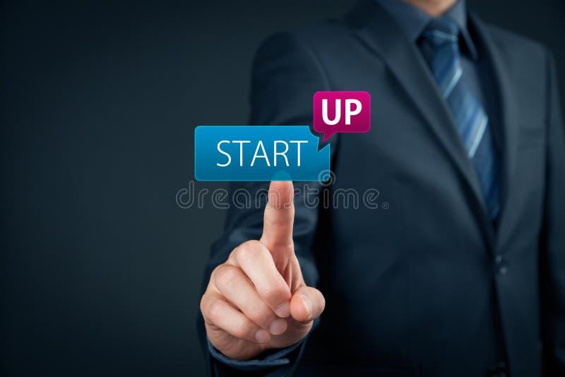 起始的企业概念 免版税库存照片