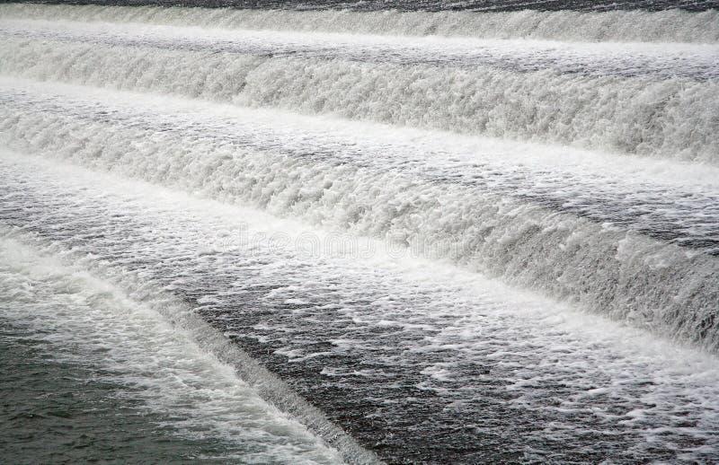 起泡沫的水 图库摄影