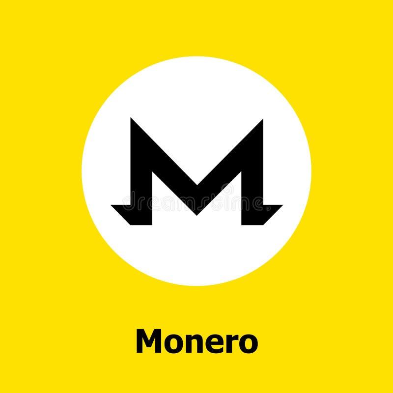 起波纹cryptocurrency blockchain平的象黄色背景 传染媒介波纹标志 图库摄影