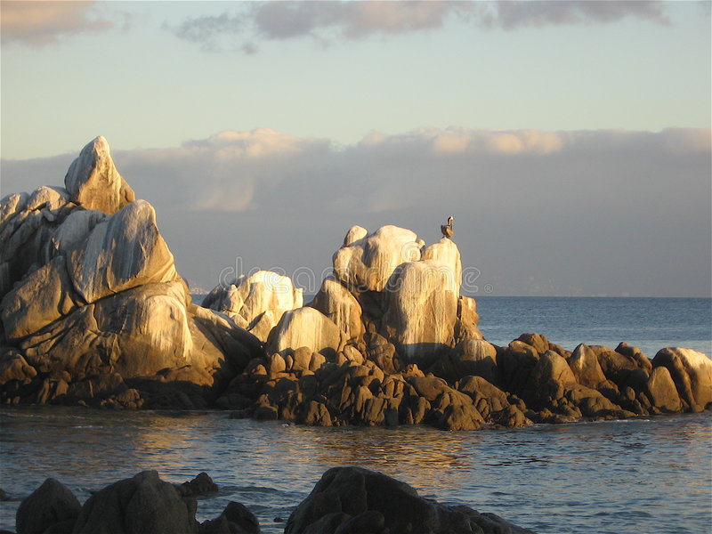 起重机岩石 免版税库存图片