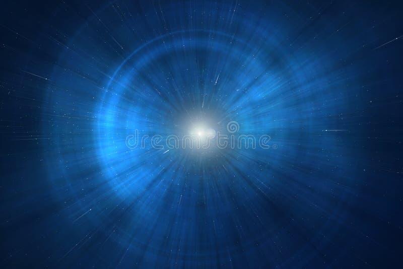 超新星 库存例证