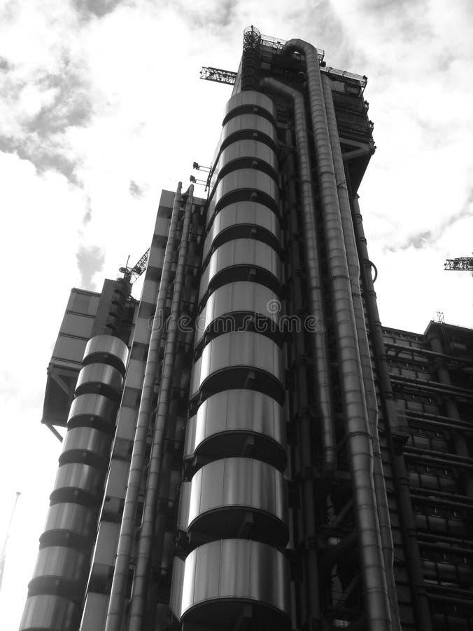 超现实的楼7 免版税库存图片