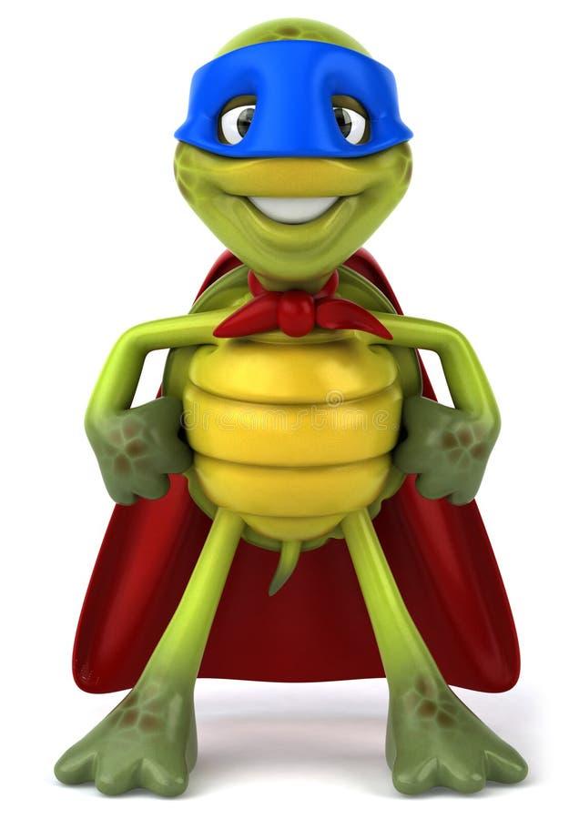 超级乌龟 库存例证