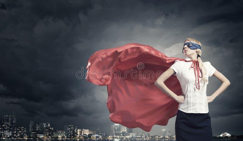 超级妇女 免版税图库摄影
