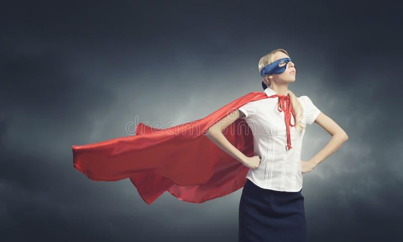 超级妇女 免版税库存图片