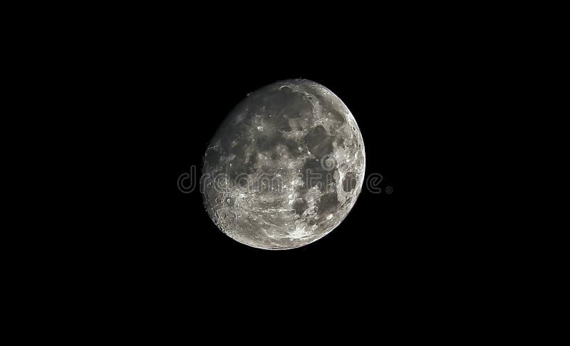 超级月亮流血全蚀 库存图片
