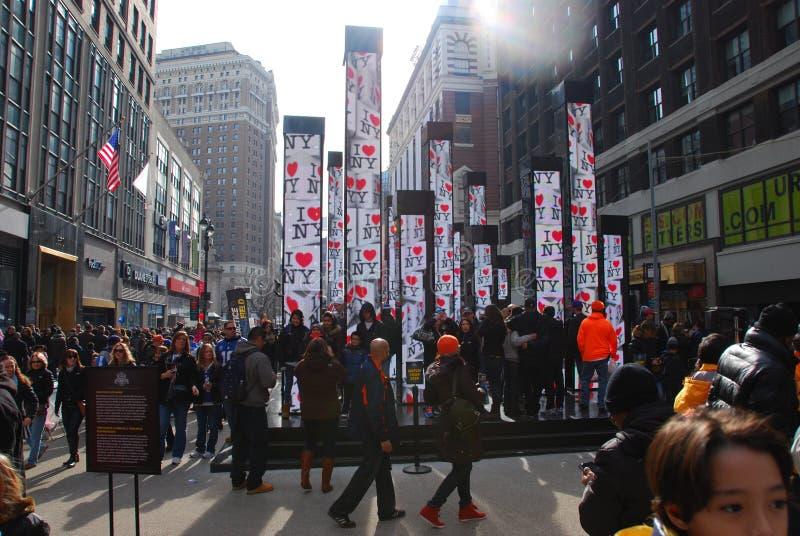 超级杯大道-纽约 免版税图库摄影