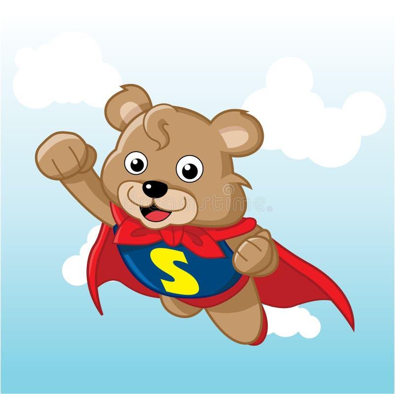 超级的熊 免版税库存照片