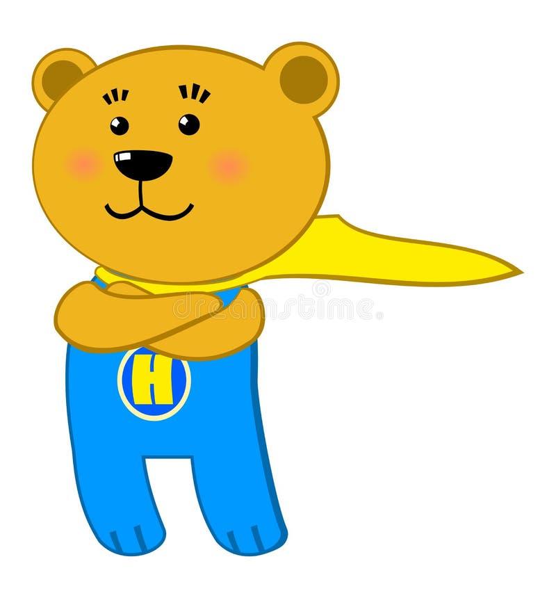 超级的熊 皇族释放例证