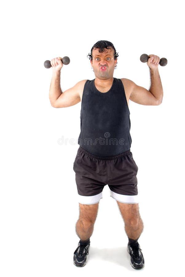超级的运动员 免版税库存图片