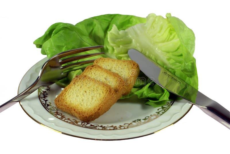 超级的饮食 免版税库存照片