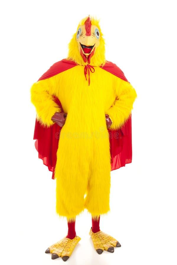 超级的鸡 免版税库存图片