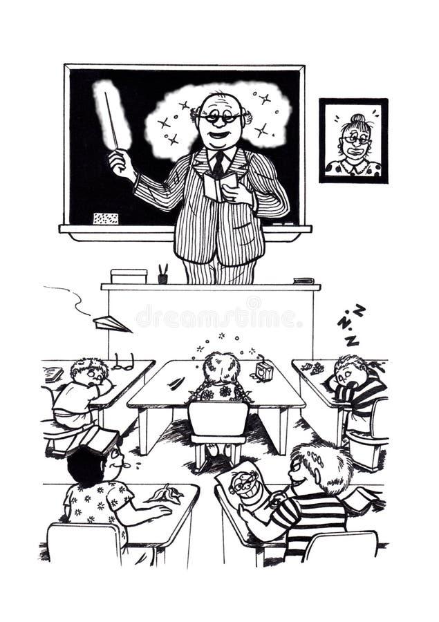 超级老师(2008) 向量例证